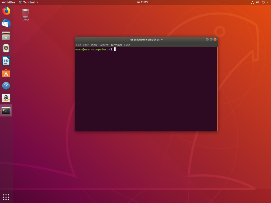 3. Updating the Ubuntu