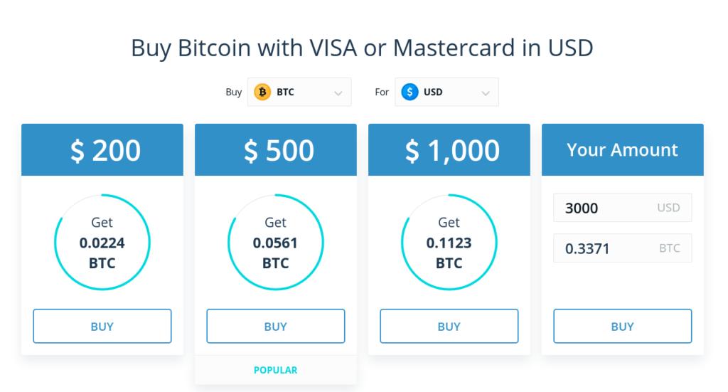 Buy Bitcoin on CEX.IO