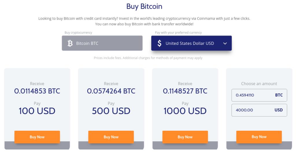 Coinmama - Aloita Bitcoinin Käyttö