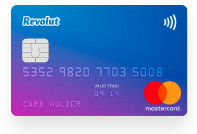 Revolut Bitcoin Debit Card