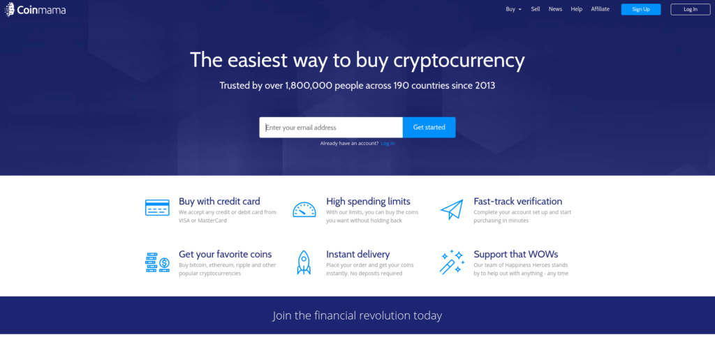 Coinmama - One of The Best Ways to Buy Bitcoin with Bank Account.