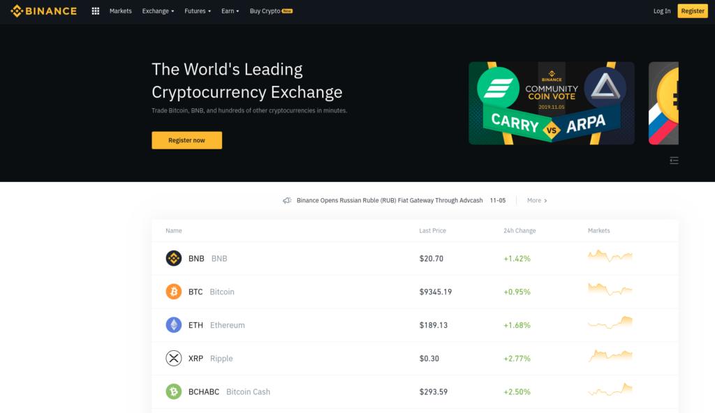 Binance - Osta Bitcoineja Luottokortilla