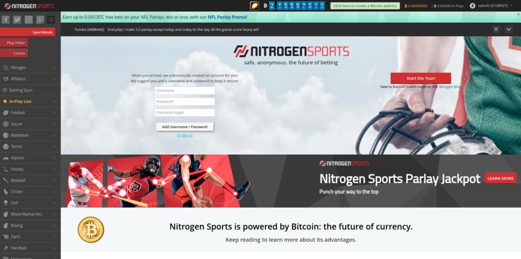 NitrogenSports - Parhaat Bitcoin Pokeri Sivustot