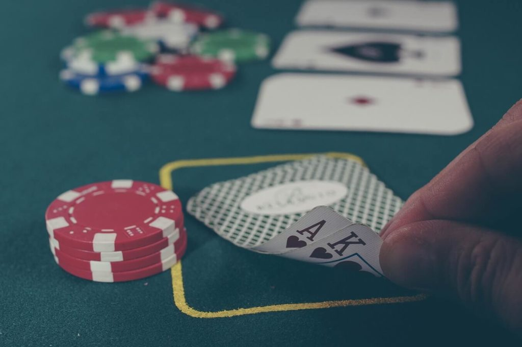 Learn to Play Poker with Bitcoin.