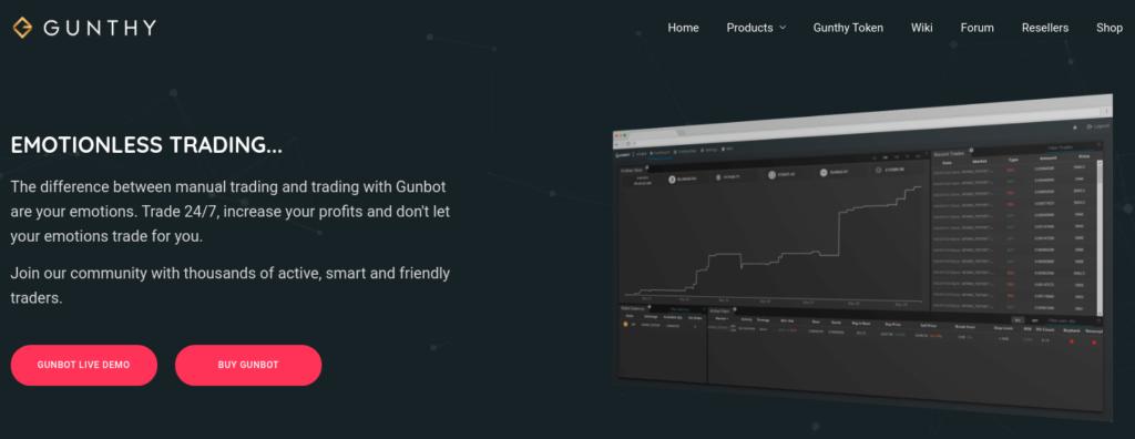 Gunbot - Automated Bitcoin Trading