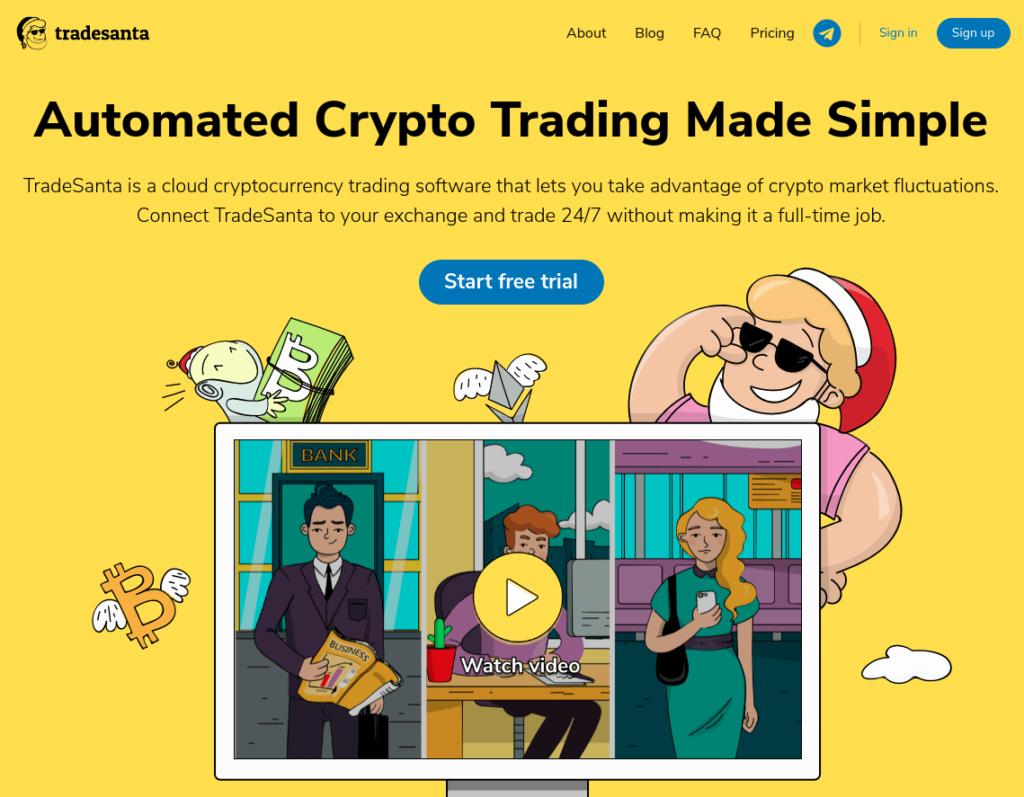 TradeSanta - Automated Bitcoin Trading