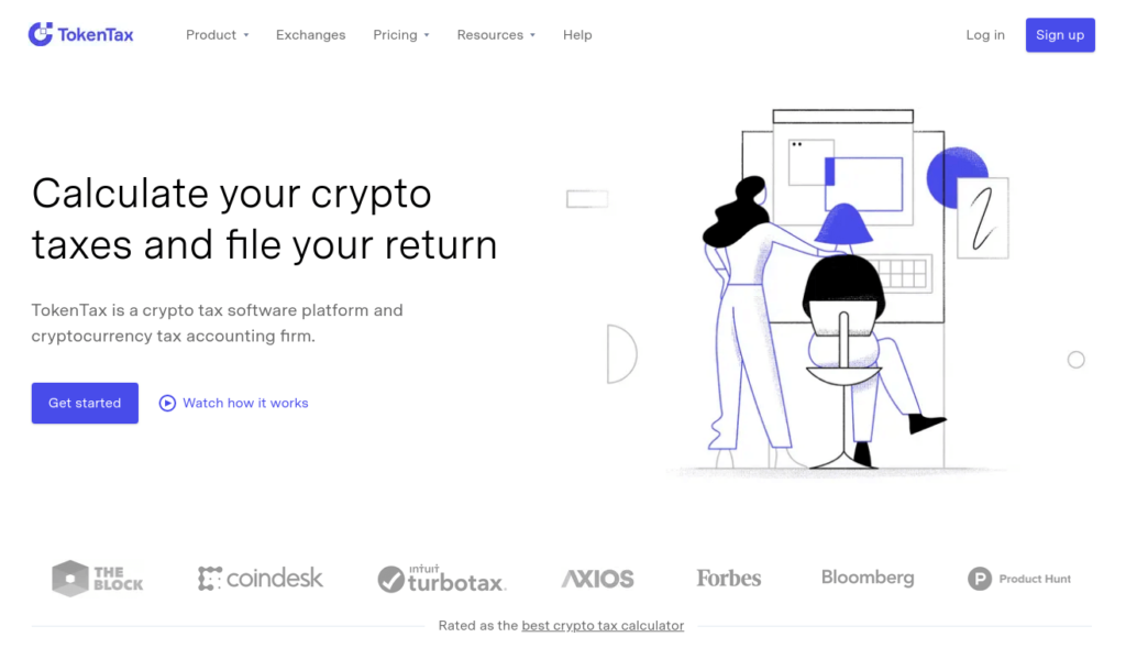 TokenTax - Best Crypto Tax Software