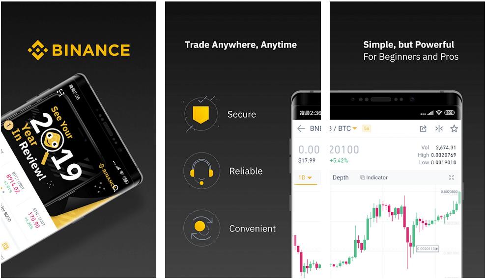 Binance - Best Crypto Trading Apps