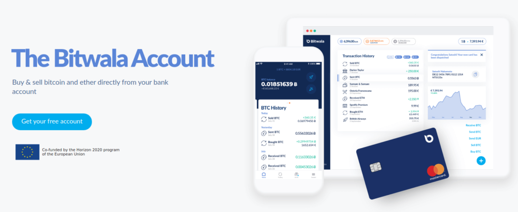 Bitwala Account - Pay Bills with Bitcoin