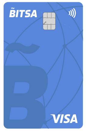 Bitsa Bitcoin Debit Card