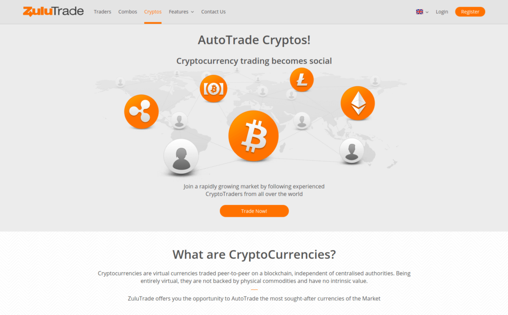 ZuluTrade - 6 Best Social Copy Trading Platforms for Cryptocurrency Investors
