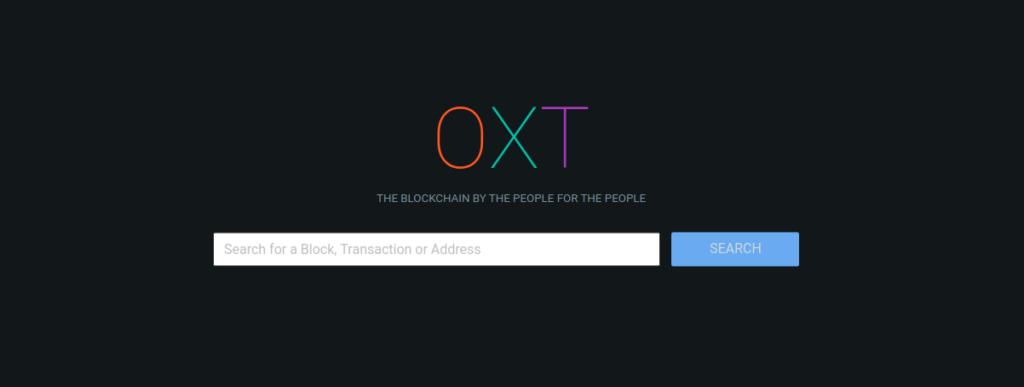 OXT - Blockexplorer rakyat