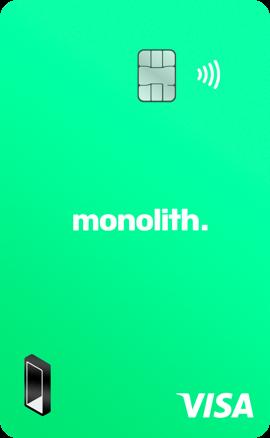 Monolith Bitcoin Debit Card