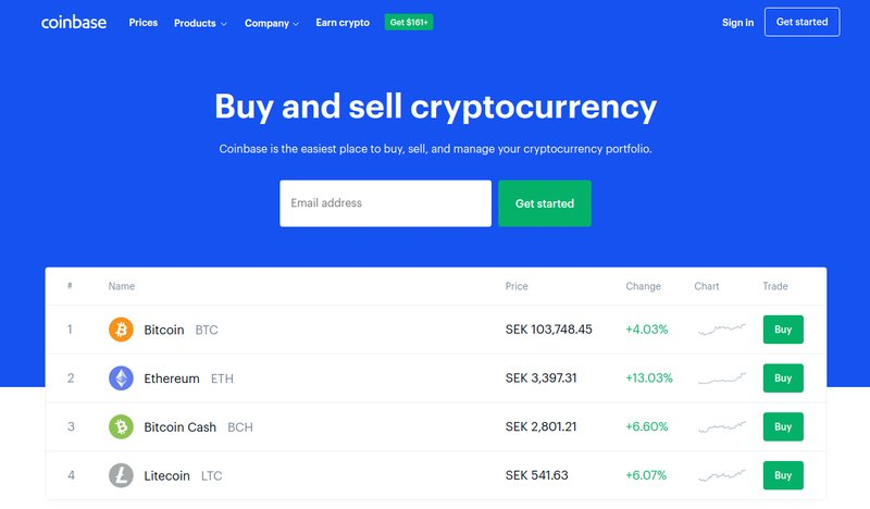 Coinbase - Recurring Bitcoin Purchases