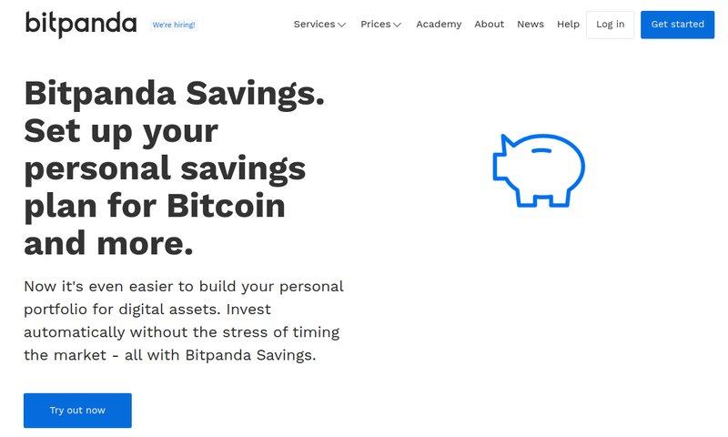 Bitpanda - Savings