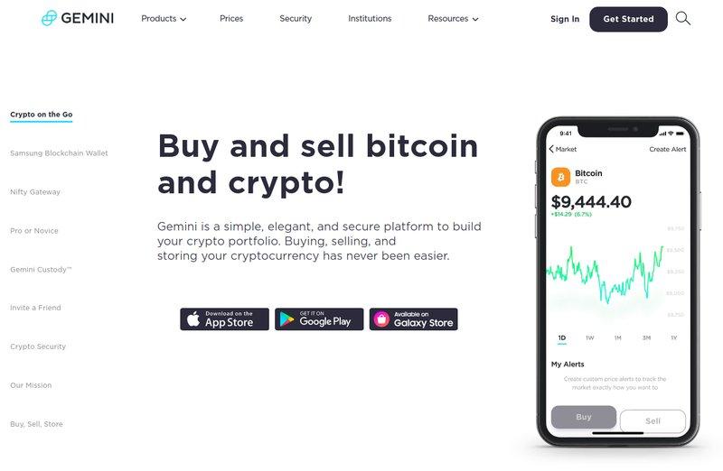 Gemini - Recurring Buy