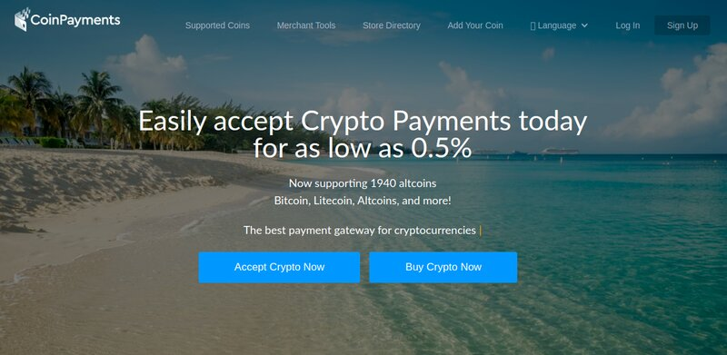 3. CoinPayments